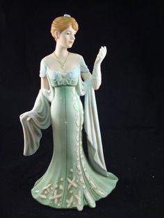 Antique home interior figurines collectibles.