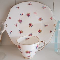 Even if you don't use it, it just looks so elegant around the home! #PaintPotHome #DrapersYard #Chichester #VintageStyle #AfternoonTea #Floral #Chintz