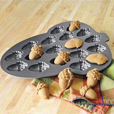 Acorn Cakelet Pan, NordicWare Cupcake Pan, Formed Cake | Solutions