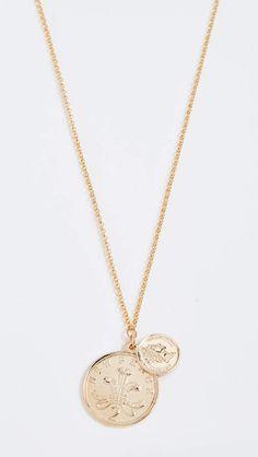 Warrior Double Pendant Necklace Jewelry Box, Jewelery, Jewelry Accessories, Jewelry Design, Women Jewelry, Coin Necklace, Pendant Necklace, Coin Pendant, 18k Gold