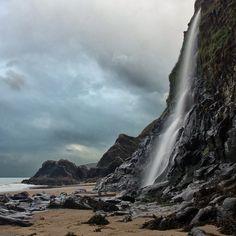 My favourite beach! Tresaith, Wales