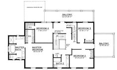 Plan 44045td center hall colonial house plan narrow lot for Father of the bride house plan