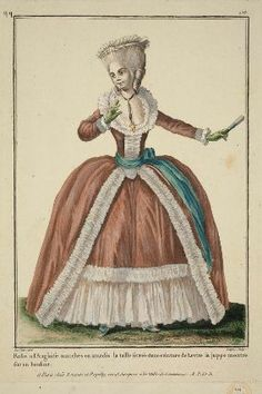 "1782.  ""Robe a l'anglaise."""