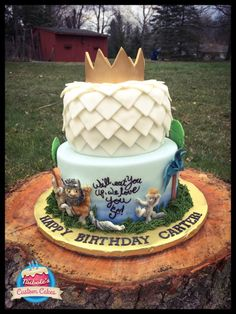 Where the Wild Things Are Cake - Cake by NicholesCustomCakes
