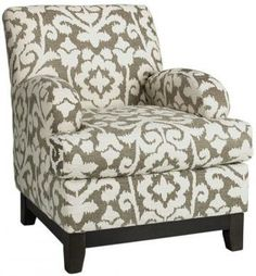 """Kenter Club Chair Kamala Kilm"""" and other furniture & decor products. Browse and shop related looks. My Living Room, Living Room Chairs, Living Room Furniture, Living Area, Home Decor Furniture, Upholstered Chairs, Club Chairs, Family Room, Family Kids"""