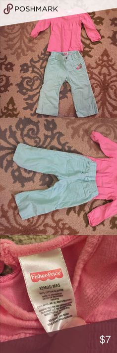 12 months corduroy and long sleeve top 12 months corduroy and long sleeve top OshKosh B'gosh Bottoms Casual