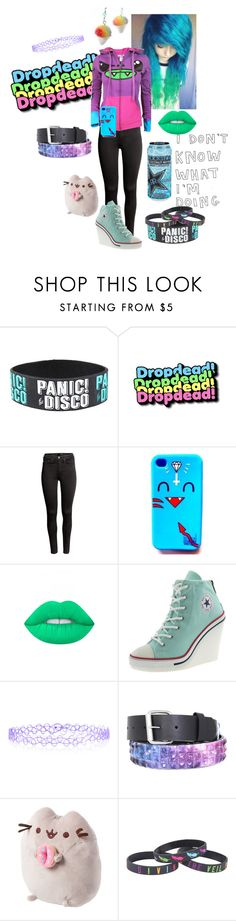"""""""Scene it out"""" by shelbybauer ❤ liked on Polyvore featuring H&M, Lime Crime, Monsoon and claire's"""