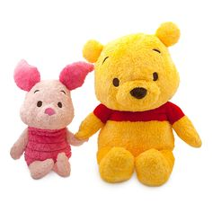 Winnie the Pooh and Piglet Anime Plush Set - Extra Large - 28'' | D Style | Disney Store
