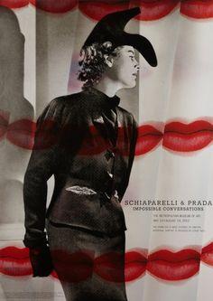 Can't resist! The Metropolitan Museum of Art - Schiaparelli & Prada: Impossible Conversations Poster