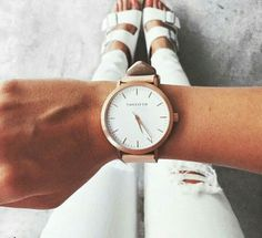 Watch and birkenstocks || thefifthwatches