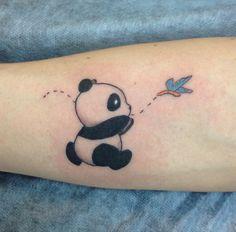 Значение татуировки панда
