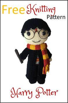 Free Harry Potter Toy Knitting Pattern