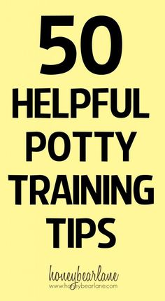 50 Potty Training Tips from Real Moms--these are tried and tested tips from our own readers who are experienced Moms!