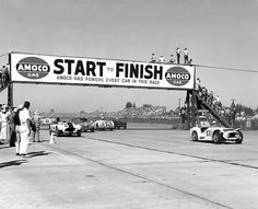 Back in the day...the start of Sebring 1955. | Flickr - Photo Sharing!