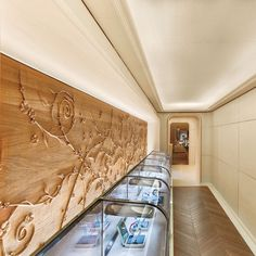 The stair for a Van Cleef & Arpels boutique, the latest in Paris, is a witty wink at the grandeur of France's ancien régime staircases