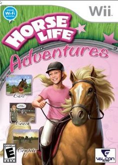 Horse Life Nintendo Wii ** To see even more for this product, visit the image link. (This is an affiliate link). All Wii Games, Fun Games, Cry Anime, Anime Art, Games For Girls, Toys For Girls, Playstation, Ever After High Games, Barbie Horse