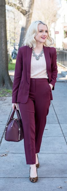 What To Wear To The Office - Suit Set For Petites - Poor Little It Girl