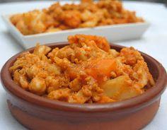 Asopaipas. Recetas de Cocina Casera .: Curry con Verduras y Garbanzos