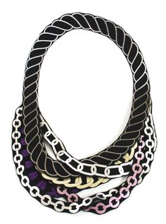 by Uli Rapp multi-chains, new colors. Visit her website here:  www.uli.nu