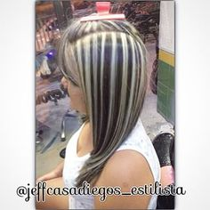 #color #mechas #platinas #iluminaciones #reflejos #rayitos #base #tendencia…