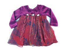 12m / Maroon fancy dress / Robe bordeaux   Changeroo.ca
