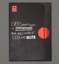 British Heart Foundation - Campaign to get emergency life support skills taught in schools.
