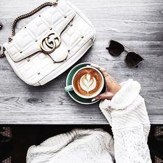 Monday morning essentials ☕️ | : @fashionedchicstyling