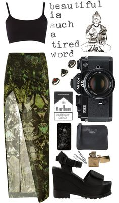 """""""lonely world"""" by caraganning ❤ liked on Polyvore"""