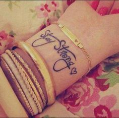 Stay Strong if you LOVE...