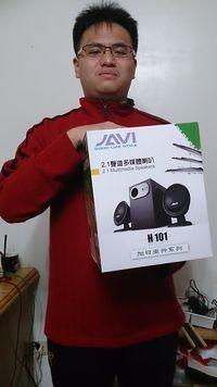 JS 『JAVI』三件式 2.1 重低音 喇叭  (H102) 【鈦銀色】,得標價格28元,最後贏家藍先生kirin:這次讓我以低價購得音響、感謝各位前輩相讓、感謝快標網給與我們良好的競標平臺、感謝快標網°
