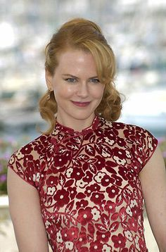"Nicole Kidman This image has the word ""goddess"" written all over it. Mandarin Dress, Chinese Actress, Nicole Kidman, Cheongsam, Elegant, Costume Design, Movie Stars, Fashion News, Casual Outfits"