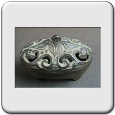 Vantines antique incense burner.