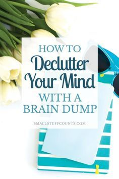 When your mind is on overdrive, you have probably noticed that it's difficult to accomplish much of anything. Learn how a quick brain dump can help clear your mind. #ProductivityTip