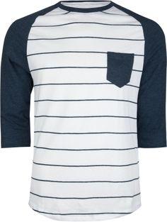 RETROFIT Stripe Raglan Mens Baseball Tee 201601210   L/S & Baseball Tees   Tillys.com