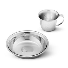 Georg Jensen Elephant Child Cup & Plate Home - Bloomingdale's Free Online Shopping, Toys Shop, Cupping Set, Measuring Cups, Scandinavian Design, Dog Bowls, Silver Plate, Elephant, Plates
