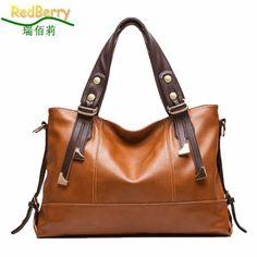 New Women Handbag Genuine Leather Bag Lichee Pattern Shoulder Bags Bolsas Femininas Crossbody Tote Fashion Women…