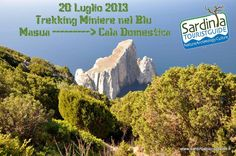 TREKKING MINES IN BLUE FROM MASUA TO CALA DOMESTICA – SATURDAY JULY 20th
