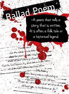 ballad poem - Google Search