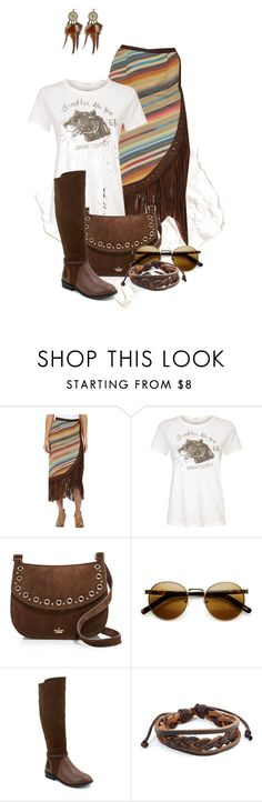 """In Suede"" by scandalicious ❤ liked on Polyvore featuring Tasha Polizzi, Denim & Supply by Ralph Lauren, Kate Spade, Olivia Miller and West Coast Jewelry"