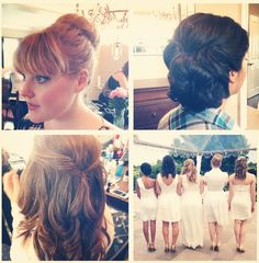 www.MonStyleFile.com wedding hair updos