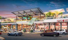 Retail Architecture, Commercial Architecture, Architecture Portfolio, Architecture Design, Environmental Graphic Design, Graphic Design Services, Shopping Center, Shopping Mall, California Architecture