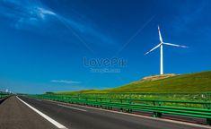 Expressway Road, road, wide, traffic, transportation, windmill, freeway, flat, new energy, wind power, road, car background Car Backgrounds, Road Photography, Image File Formats, New Energy, Wind Power, Windmill, Free Photos, Roads, Wind Turbine