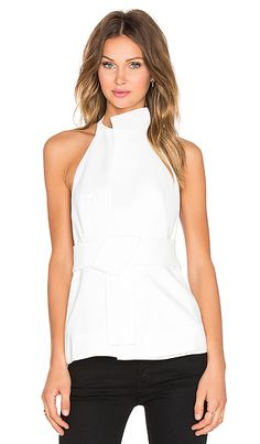 Acler Harwood Top in Ivory | REVOLVE