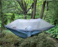 The Netted Cocoon Hammock - Hammacher Schlemmer. I have one of these and LOVE it!  Possible Christmas present for someone.