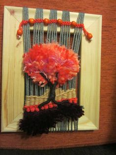 Yarn Crafts, Loom, Macrame, Mandala, Projects To Try, Weaving, Wreaths, Halloween, Crochet