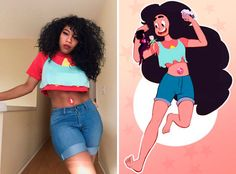 Manga Cosplay black cosplay - Kiera Please dons a variety of outfits. For February, she's celebrating black cosplay with Cosplay Anime, Comic Con Cosplay, Easy Cosplay, Cosplay Ideas, Costume Ideas, Simple Cosplay, Catwoman Cosplay, Spiderman Cosplay, Naruto Cosplay