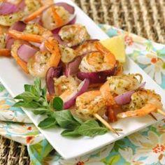 Grilled Oregano Shrimp Recipe on Yummly