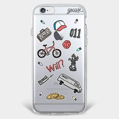 Custom Phone Case Stranger Patches