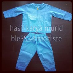 Pocoyo costume pijama for kid - bleSS3d modiste sewing course