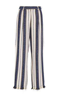 Marine Stripe Tailored Pant by EDUN  for Preorder on Moda Operandi